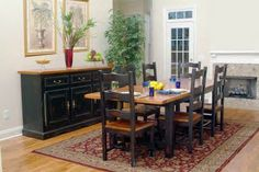"""Country Marketplace - Solid Oak 42"""" x 84"""" Tuscany Harvest Table with  20"""" Self-storing Leaf and 4 Large Ladderback Chairs, $1,999.00 (http://www.countrymarketplaces.com/products/Solid-Oak-42""""-x-84""""-Tuscany-Harvest-Table-with--20""""-Self%2dstoring-Leaf-and-4-Large-Ladderback-Chairs.html)"""