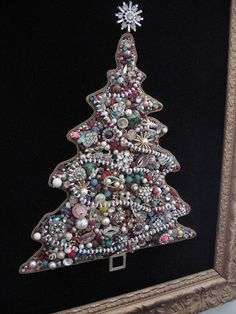 jeweled christmas tree by nogoodnik, via Flickr