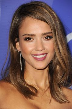 Celebrities with Mid-Length Hair - Medium Length Hairstyles - ELLE