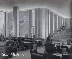 Normandie - Smoke Room....