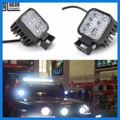 2PCS 12W Car LED Offroad Work Light Bar for Jeep 4x4 4WD AWD SUV ATV Golf Cart 12v 24v Driving Lamp Motorcycle Fog Light