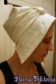 Couture Aranel: 15th Century Hat - another tutorial
