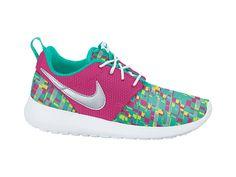Nike Roshe Run Print (3.5y-7y) Girls' Shoe