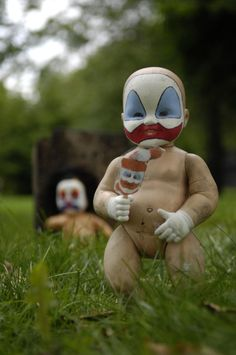 Freaky clowns.... 'IT' before he grew up.... Don't look down the drains. EEEEK