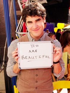 Why yes Darren I already knew that, but thanks for reminding me! You're kinda cute too, I guess :)