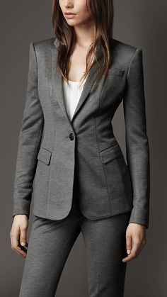 Minimal Tailored Jacket | Burberry