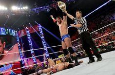 WWE Main Event: Wade Barrett vs Justin Gabriel