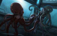 Eclipse Phase Rimward - Octopus Thugs by Hideyoshi on DeviantArt