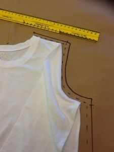 How to make a pattern from a piece of clothing