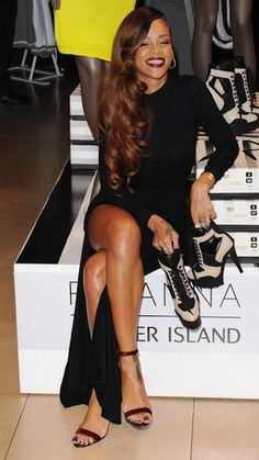 rihanna fashion | Rihanna Fashion Collection Officially Launched In London [PHOTO] l ...