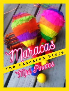 Fiesta Party Decorations Maracas Mini Pinatas beautiful pinata style designs are beautiful for your party, event, promotion custom mini pinatas, guests gift bags insert fiesta decor. Fiesta Party Decorations, Fiesta Theme Party, Mexican Party Supplies, Mexican Pinata, Mini Pinatas, Guest Gifts, For Your Party, Christmas Tree Decorations, Gift Bags