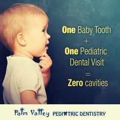 Protect your child's teeth by starting dental checkups early. The first dental visit should occur within six months after the baby's first tooth appears, but no later than the child's first birthday! Call us today: 623-535-7873.   PVPD - Palm Valley Pediatric Dentistry    http://pvpd.com   #pvpd #kid #children #baby  #smile #dentist #pediatricdentist #goodyear #avondale #surprise #phoenix #litchfieldpark #PalmValleyPediatricDentistry #verrado #dentalcare #pch #nocavityclub #no2thdk