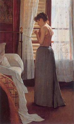Figure Study - Santiago Rusinol. Impresionismo