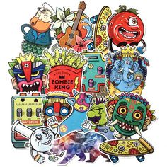 TomatoZero Sticker Pack<br>