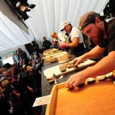 Festival de ostras. Galway, Irlanda. Acontece na safra de ostras (de setembro até abril)