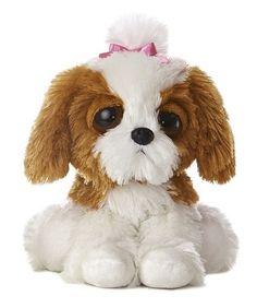 10 Aurora Plush Princess Puppy Dog Stuffed Animal Toy Dreamy Eyes New | eBay