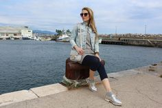 Trench Collection by Sonia Verardo: OOTD: Windy day at the industrial zone of Rijeka