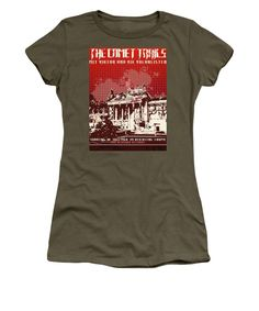 Return To Castle Gig Poster - Women's T-Shirt (Athletic Fit)