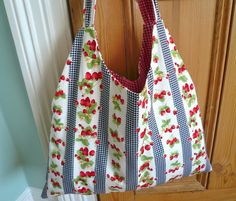 Handmade Jane: Out of season holiday bag