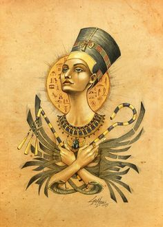 Ancient Memories Nefertiti - Lorena Assisi
