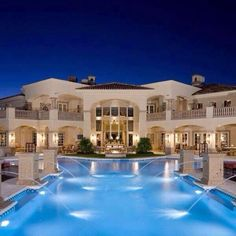 Huge Houses With Pools pool and huge house | dream house | pinterest | huge houses, house