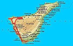 Teneriffa Karte Spanien.Die 11 Besten Bilder Von Teneriffa In 2017 Teneriffa Kanarische
