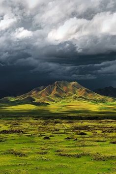 Orkhon River Valley, Central Mongolia