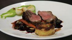 Rump of Lamb with Pea Puree & Gratin Potatoes - RTE Food
