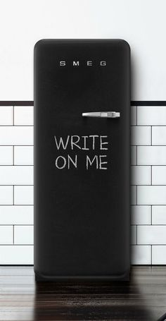 Black Chalkboard Fridge – Mad About The House