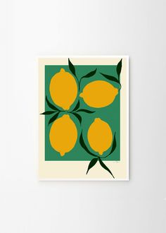 Green Lemon Fine art giclée print created by Anna Mörner exclusively for The Poster Club. Anna Mörner is an artist based in Stockholm. She has collaborated with labels like FRAMA CPH and MARIMEKKO. Discover your favourite art print from The Poster Club! Anna, Free Frames, Saturated Color, Limited Edition Prints, Framed Art Prints, Giclee Print, Vibrant, Colours, Fine Art