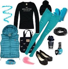 Nice outfit for winter or fall to keep you nice and warm
