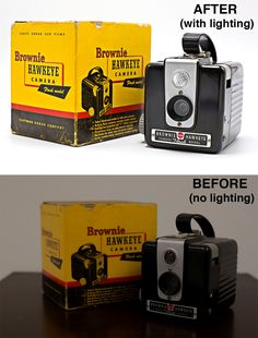 The is the easiest and quickest lighting kit for product photography!! The difference is astounding! #Fovitec #photography