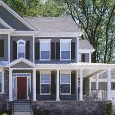 I like the paint color combo and the house style!