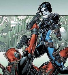 Domino Comics   Dominó (Marvel Comics)