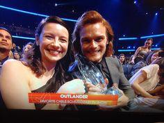 RT @VenusOctober Congrats @Outlander_Starz #PeoplesChoiceAwards winner!!! #PCAs2015 #OutlanderPCA #Outlander
