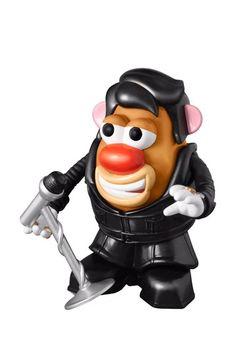 Elvis Black Leather Mr. Potato Head. Wat?