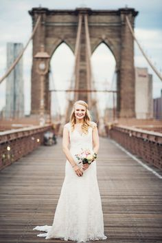 Photography: Julie Pepin Photography - www.juliepepin.com/blog/  Read More: http://www.stylemepretty.com/2015/02/17/romantic-new-york-city-elopement/