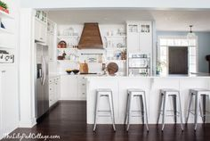 Wood Range Hood - The Lilypad Cottage