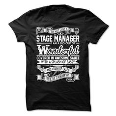 Stage Manager T-Shirts, Hoodies. Check Price Now ==► https://www.sunfrog.com/Automotive/Stage-Manager-93073837-Guys.html?id=41382