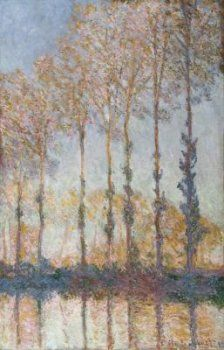 Claude Monet - Poplars on the Bank of the Epte River, 1891