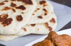 Stovetop Naan (Indian Flatbread)