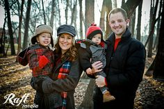 Winter Family Photo. Love the colors.  Raft Media Photography Boise