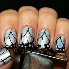 Butterfly Nails @ mrslochness