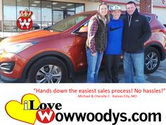 """Hands down the easiest sales process! No hassles!"" Michael & Cherelle Curley Kansas City, MO"