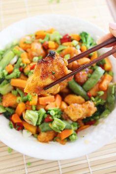 The Comfort of Cooking » Sweet 'n Spicy Firecracker Chicken