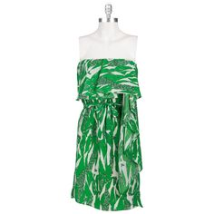 MM Couture by Miss Me Women's Contemporary Printed Cascade Dress
