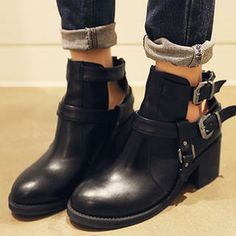 Buy 'NANING9 – Buckled Ankle Boots' with Free International Shipping at YesStyle.com. Browse and shop for thousands of Asian fashion items from South Korea and more!