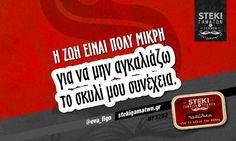 Η ζωή είναι πολύ μικρή  @eva_figo - http://stekigamatwn.gr/f3282/
