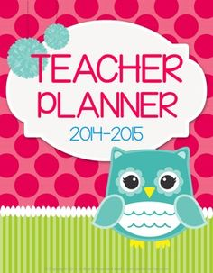 Teacher Planner Binder $