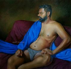 Amit chandrakant Dhane oil colour on canvas